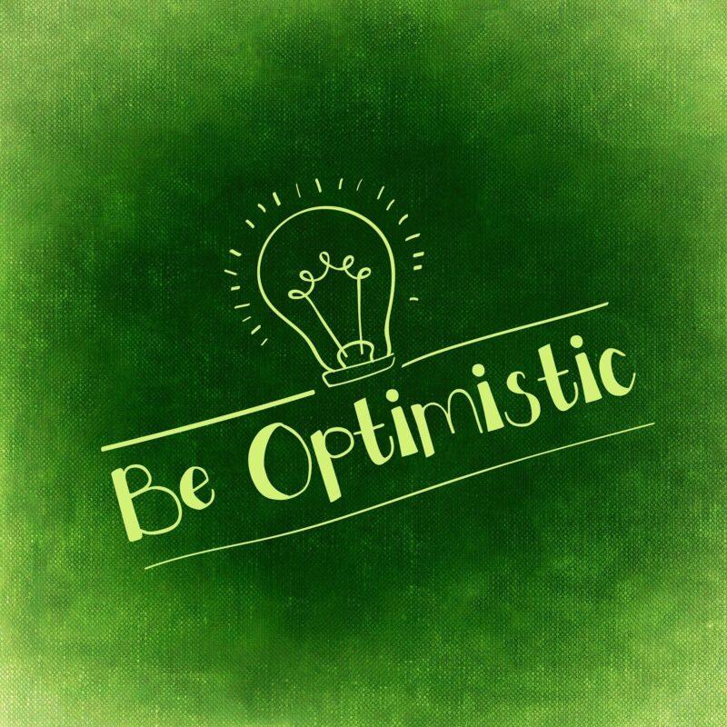 Optimistisch sein für mehr Ideenreichtum