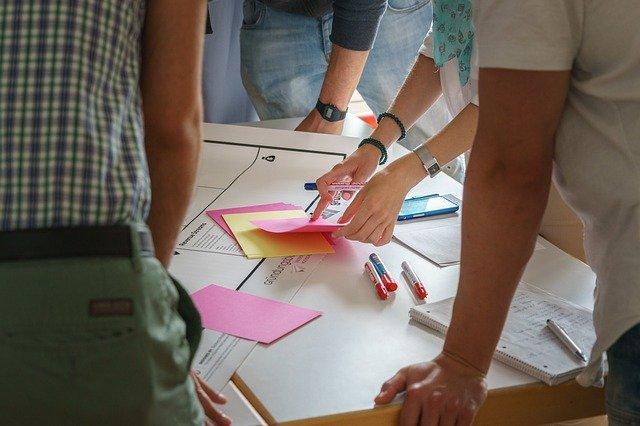 Interdiziplinäre Teams im Design Thinking